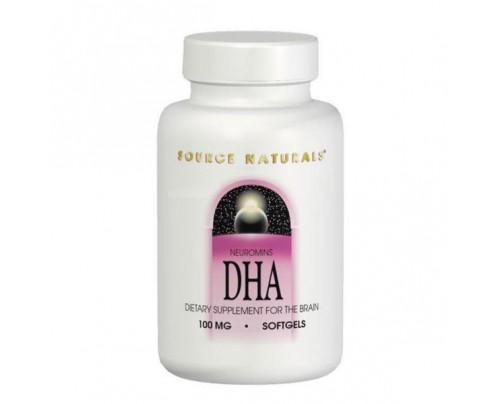 Source Naturals DHA Neuromins 100mg & 200mg Softgels