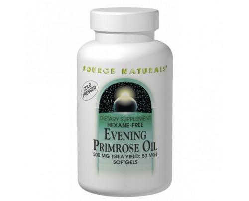 Source Naturals Evening Primrose Oil 500mg (50mg GLA) Softgels