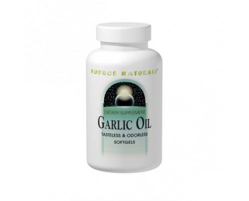 Source Naturals Garlic Oil 500mg Softgels