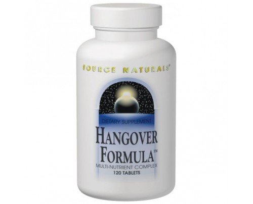Source Naturals Hangover Formula Tablets