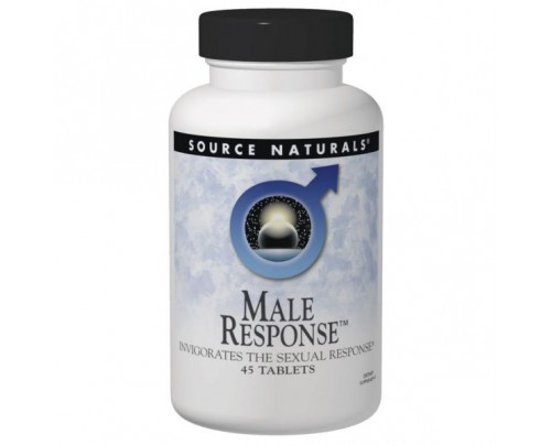 Source Naturals Male Response Tablets