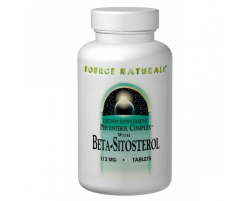 Source Naturals Beta Sitosterol 113 mg Tablets