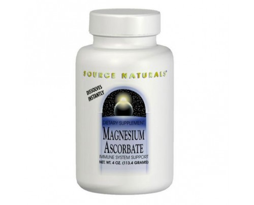 Source Naturals Magnesium Ascorbate Powder