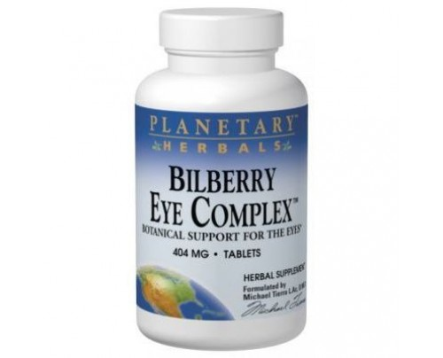 Planetary Herbals Bilberry Eye Complex 404mg Tablets