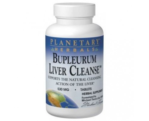 Planetary Herbals Bupleurum Liver Cleanse 530mg Tablets