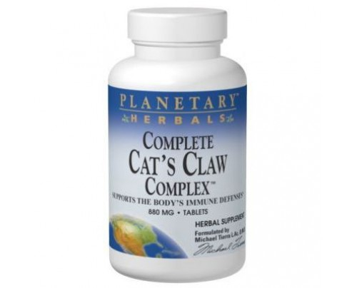 Planetary Herbals Complete Cat's Claw Complex 880mg Tablets