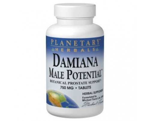 Planetary Herbals Damiana Male Potential 575 mg 45 Tablets