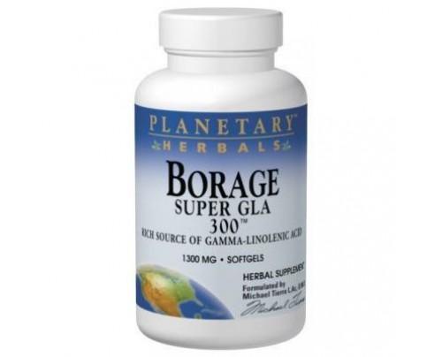 Planetary Herbals Borage Super GLA 300 1,300mg Softgels