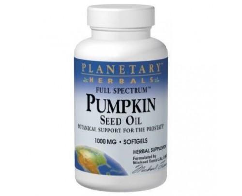 Planetary Herbals Pumpkin Seed Oil, Full Spectrum 1,000 mg 90 Softgels