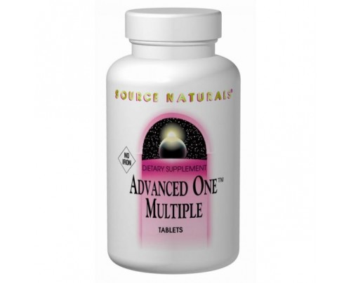 Source Naturals Advanced One Multiple (No Iron) Tablets