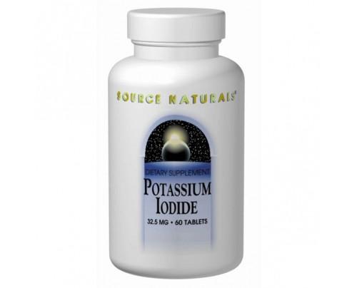 Source Naturals Potassium Iodide 32.5 mg Tablets