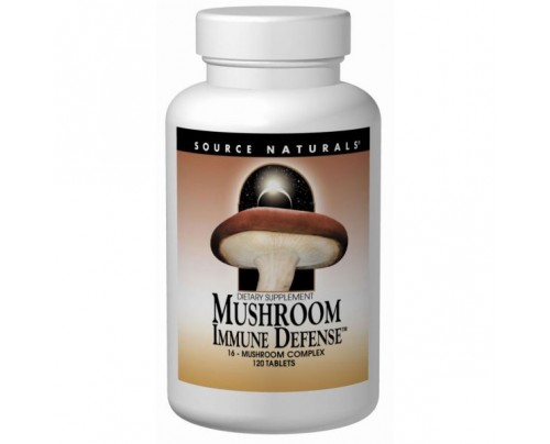 Source Naturals Mushroom Immune Defense 1,025mg Tablets