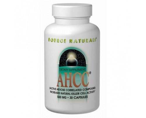 Source Naturals AHCC 500 mg 60 Vegetarian Capsules