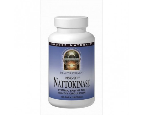 Source Naturals Nattokinase Enzyme Capsules & Softgels