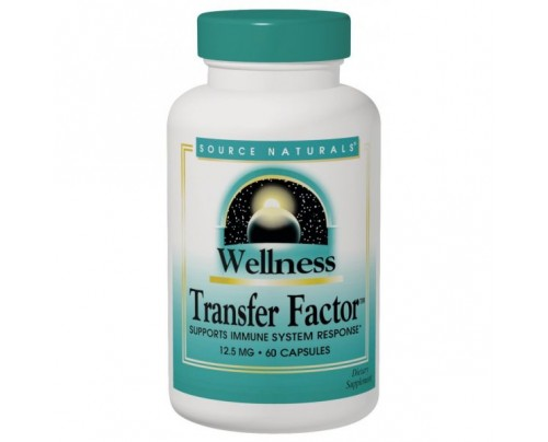 Source Naturals Wellness Transfer Factor 125 mg 60 Vegetarian Capsules