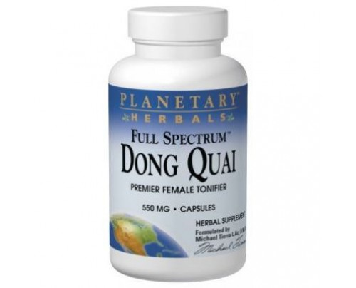 Planetary Herbals Dong Quai, Full Spectrum 550mg Capsules