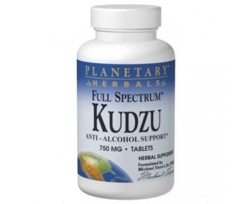 Planetary Herbals Kudzu Full Spectrum 750 mg Tablets