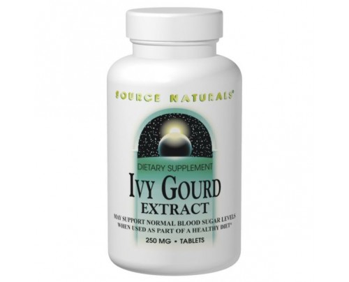 Source Naturals Ivy Gourd Extract 250mg Tablets
