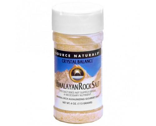 Source Naturals Himalayan Rock Salt by Crystal Balance Fine Grind