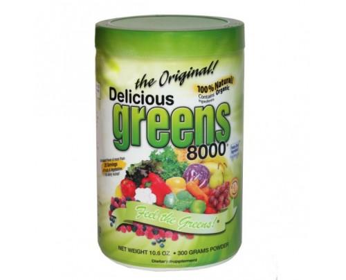 Greens World Delicious Greens 8000 Original Flavor 10.6oz.