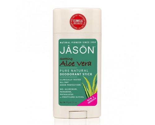 Jason Soothing Aloe Vera Deodorant Stick 2.5oz.