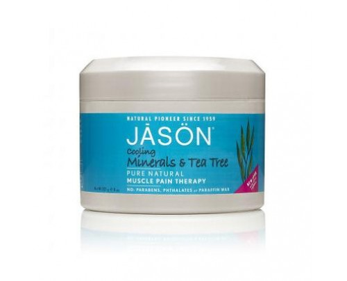 Jason Cooling Minerals & Tea Tree Muscle Pain Therapy Gel 8oz.