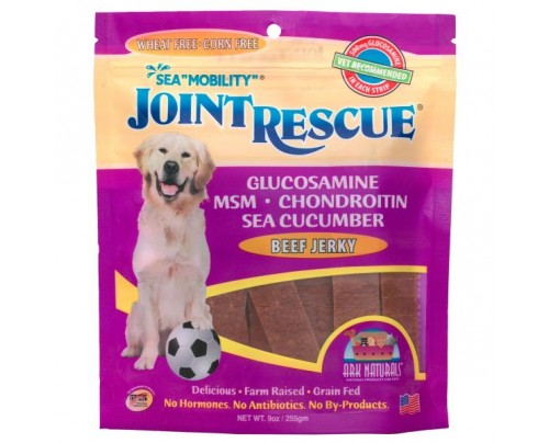 Ark Naturals Sea Mobility Joint Rescue Beef Jerky 9oz. 22 Soft Chews