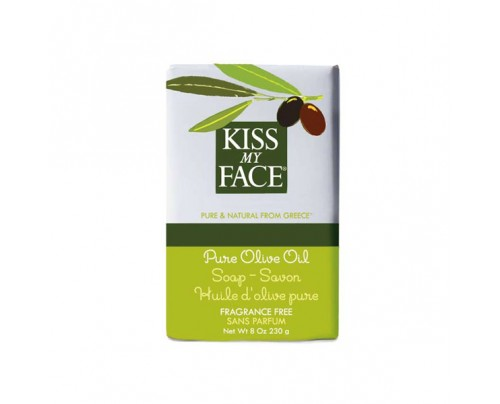 Kiss My Face Bar Soap Pure Olive Oil 8oz.