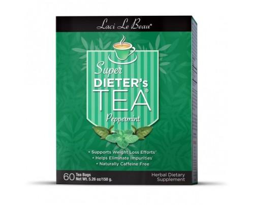 Laci Le Beau Super Dieter's Tea Peppermint 60 Teabags