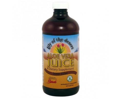 Lily Of The Desert Aloe Vera Inner Fillet Juice 16 oz.