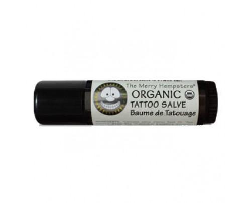 Merry Hempsters Organic Tattoo Salve Tube 0.6 oz.