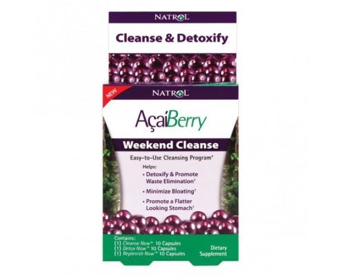 Natrol Acai Berry Weekend Cleanse Kit