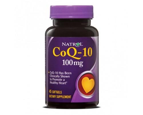 Natrol CoQ10 100mg 45 Capsules