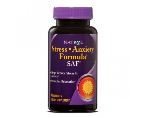 Natrol SAF Stress Anxiety Formula 90 Capsules