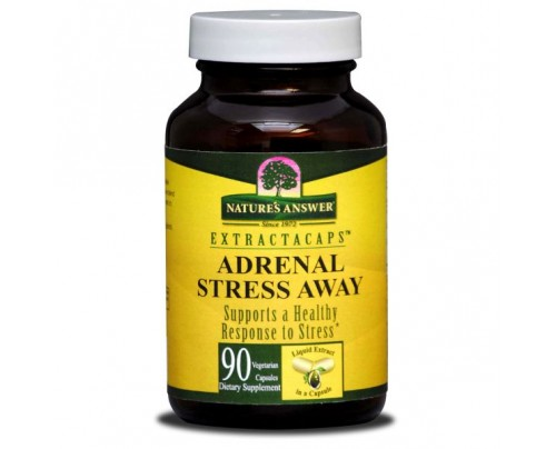 Nature's Answer Adrenal Stress Away 210mg 90 Extractacaps Liquid Vegetarian Capsules