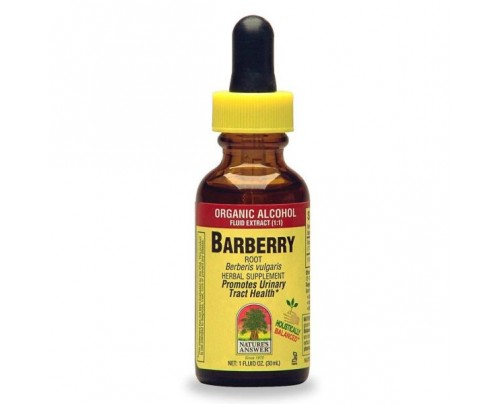 Nature's Answer Barberry Root Berberis Vulgaris Extract 1oz.