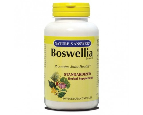Nature's Answer Boswellia Extract Standardized 400mg 90 Vegetarian Capsules