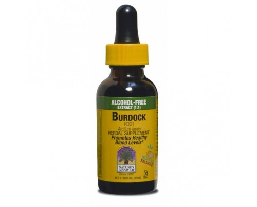 Nature's Answer Burdock Root Organic Alcohol-Free Extract 1oz.
