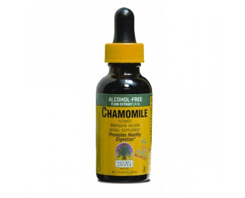 Nature's Answer Chamomile Flowers Organic Alcohol-Free Extract 1 fl. oz.
