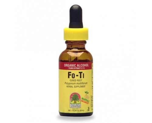 Nature's Answer Fo-Ti Cured Root Extract 1oz.
