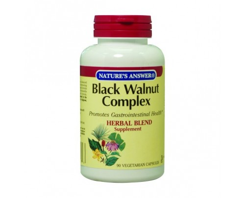 Nature's Answer Black Walnut Complex 500mg 90 Vegetarian Capsules