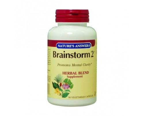 Nature's Answer Brainstorm 2 450mg 90 Vegetarian Capsules