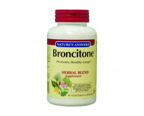 Nature's Answer Broncitone 450mg 90 Vegetarian Capsules