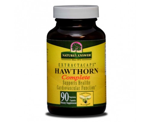 Nature's Answer Hawthorn Complete 200mg Extractacaps Liquid