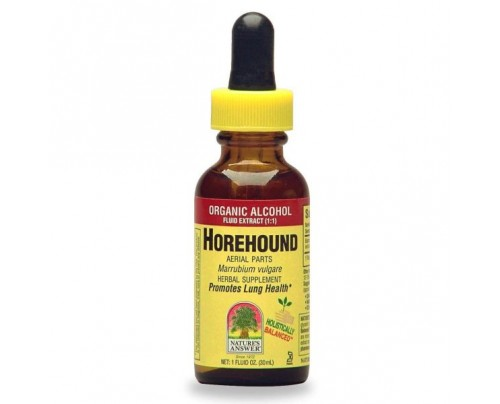 Nature's Answer Horehound Herb Extract 1oz.