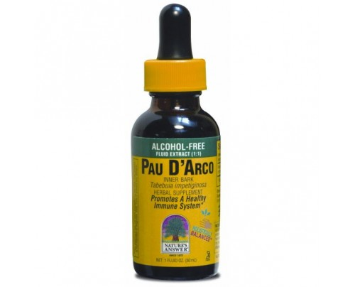 Nature's Answer Pau D'Arco Alcohol-Free Extract 1oz.