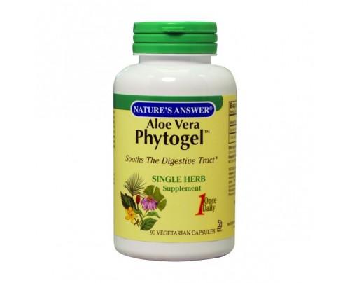 Nature's Answer Aloe Vera Phytogel 250mg 90 Capsules