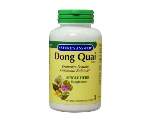 Nature's Answer Dong Quai Root 550mg 90 Vegetarian Capsules