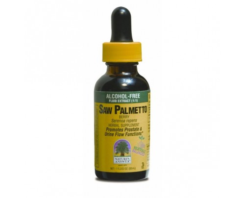Nature's Answer Saw Palmetto Berry Alcohol-Free Extract 1oz.
