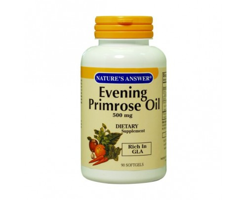 Nature's Answer Evening Primrose Oil 500mg 90 Softgels